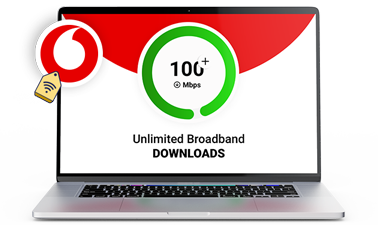 Unlimited broadband downloads